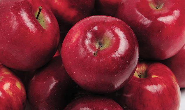 mere roșii