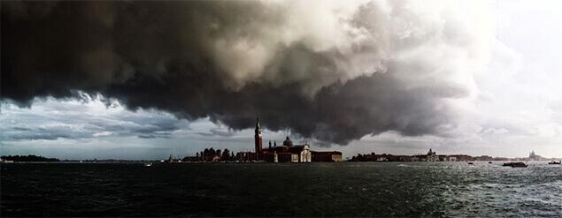Fotografie panoramică realizată de Andrea Bruni cu un iPhone