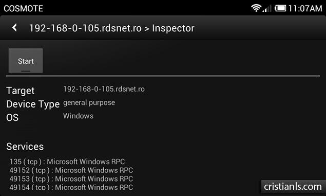 Inspector - dSploit