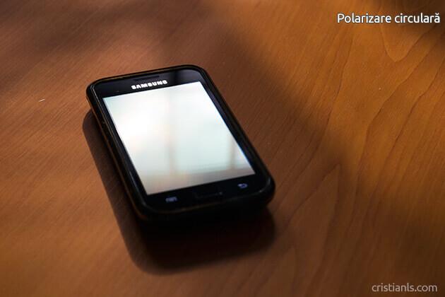 Telefon - polarizare circulară