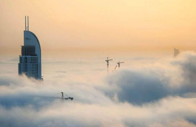 Orașul norilor, Dubai - 2