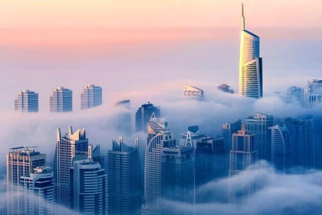 Orașul norilor, Dubai - 1