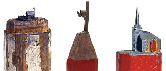 Sculptură în mină de creion — 9