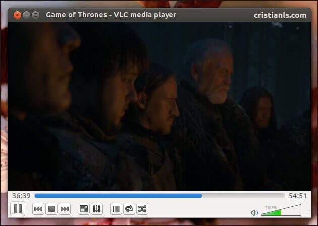 VLC Media Player in Ubuntu 13.04