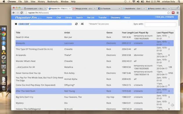 Napster.fm - muzică online gratis