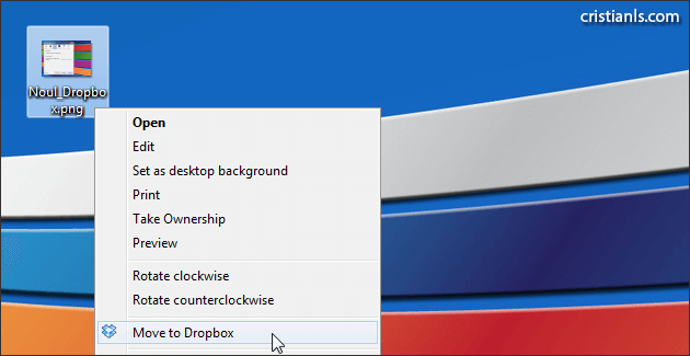 Move to Dropbox