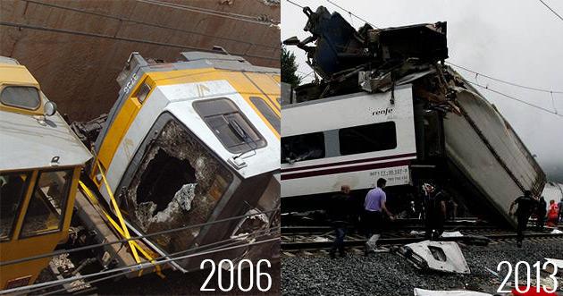 accident tren 2006 / 2013