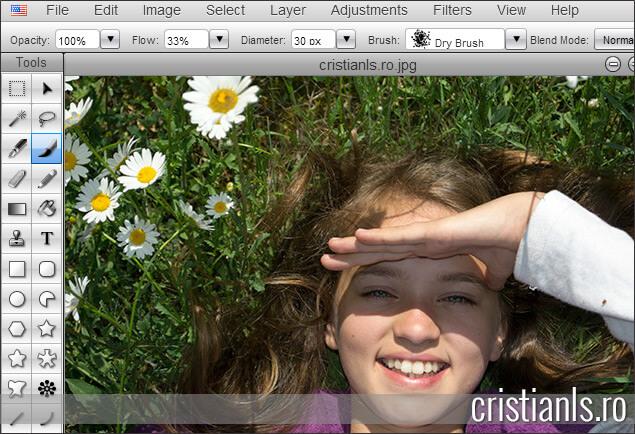 programe de modificat poze online: Sumopaint