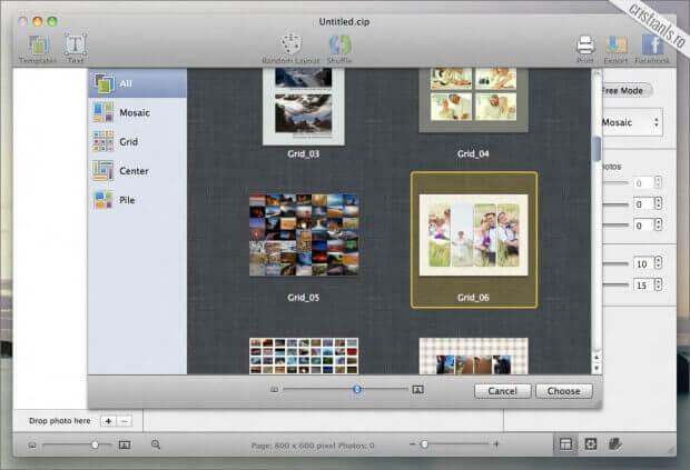 CollageIT program de facut colaje foto