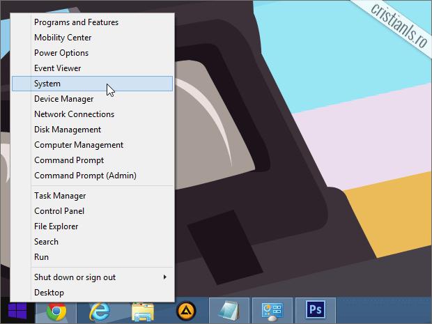 System Windows 8.1