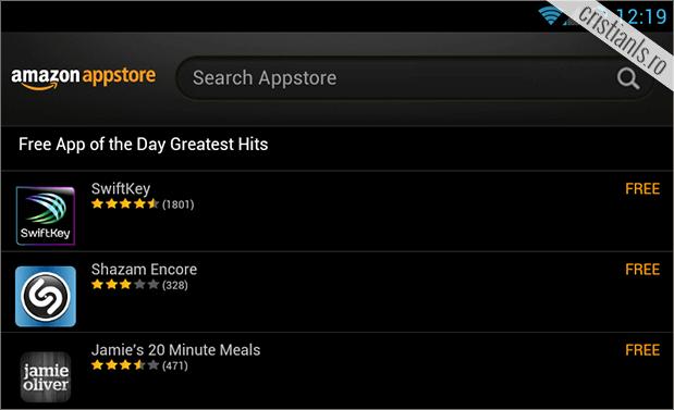 Aplicații gratis pentru Android, de la Amazon