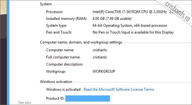 cum se activeaza windows 8.1 rtm