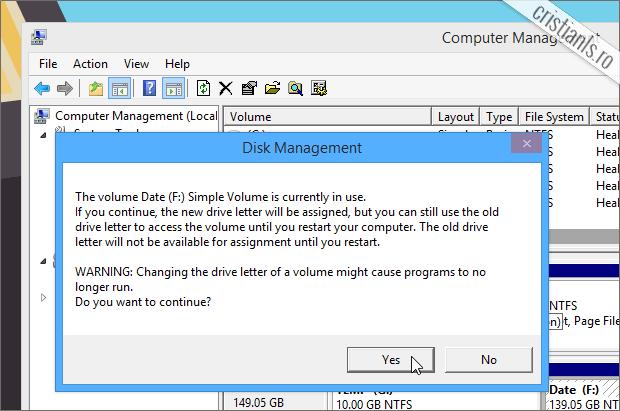 partitia sau hard disk-ul se foloseste