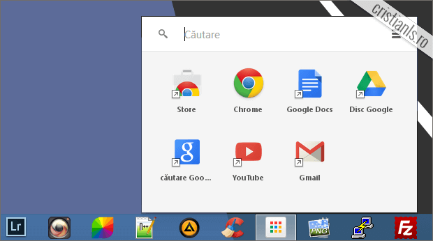 Chrome App Launcher for Windows