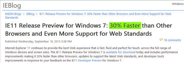 Internet Explorer 11 Release Preview