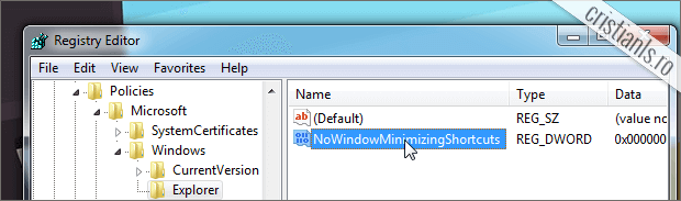 NoWindowMinimizingShortcuts