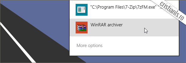 WinRAR archiver