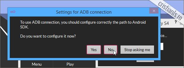 configurare SDK