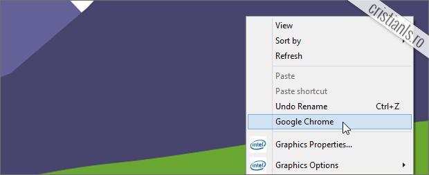 cum adaugi orice program in meniul contextual