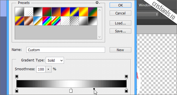 custom gradient