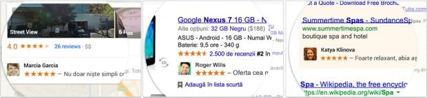 Profil Google+ in reclame