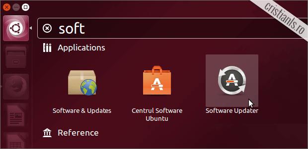 Software Updater în Ubuntu 13.10