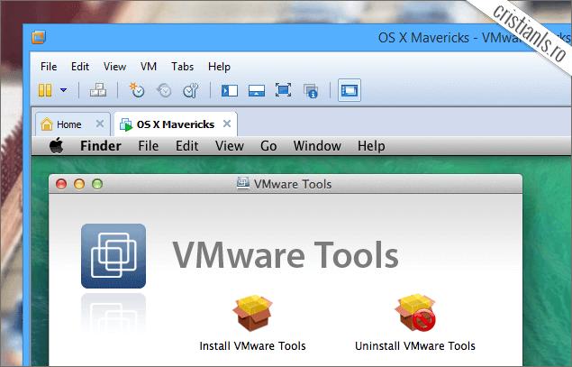 Instalare VMware Tools