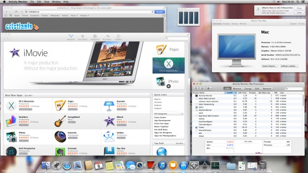 OS X 10.9 Mavericks in VMware Workstation