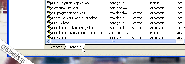Service Computer Management Control