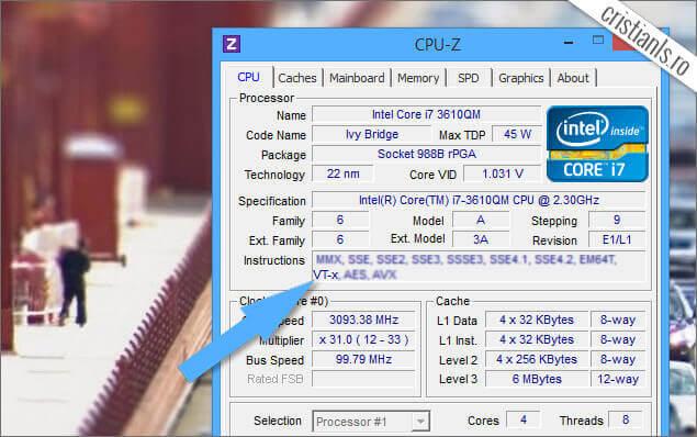 Virtualizare Hardware VT-x