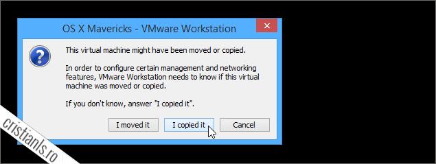 masina virtuala a fost copiata