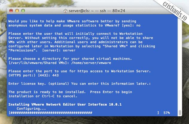 SSH în OS X