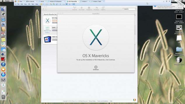 creare usb de instalare os x 10.9 mavericks