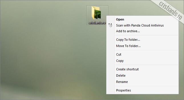 Move to Dropbox eliminat din meniul contextual