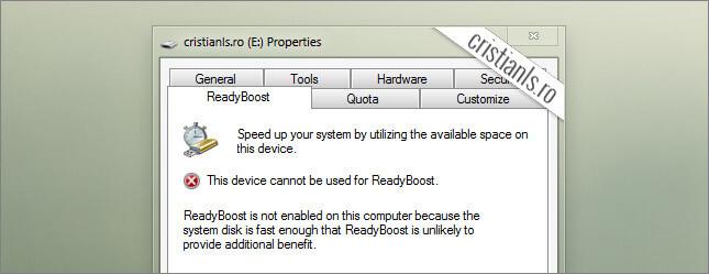 hard disk ul este suficient de rapid