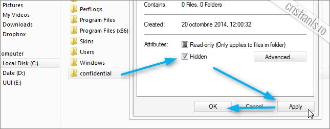 hidden folder