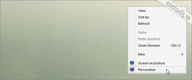 personalizare desktop
