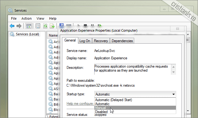 Serviciile Windows 7 ce pot fi dezactivate