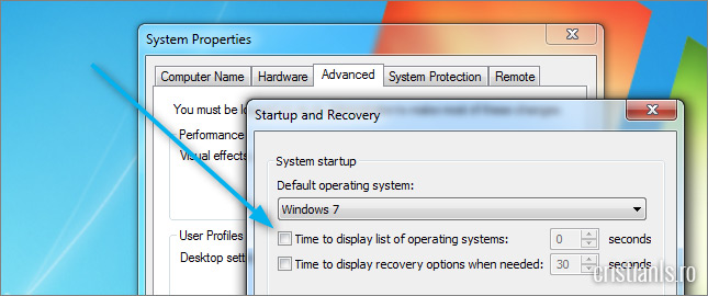 Time to display list of operating systems