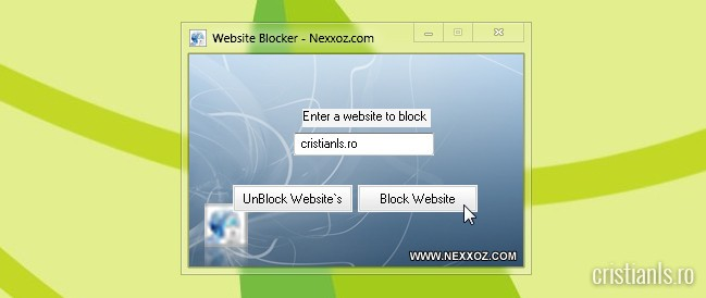 website blocker