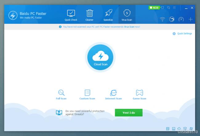 Baidu PC Faster - Virus Scan