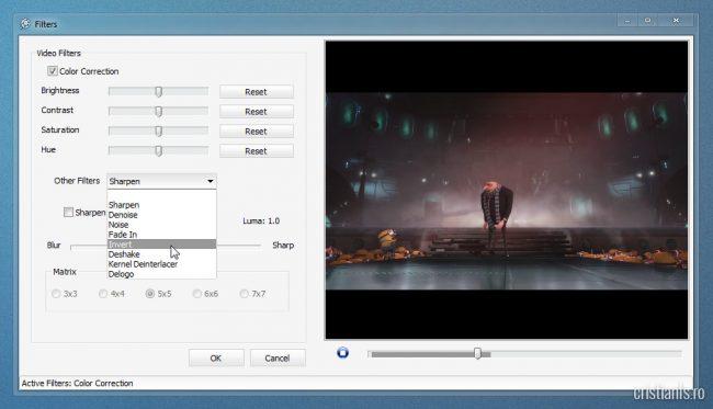 filtre si efecte video