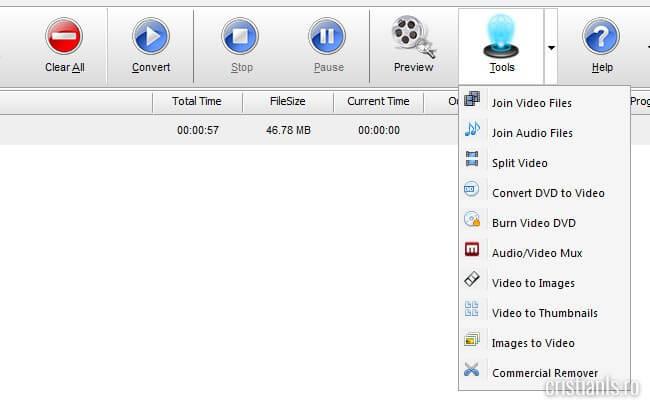 instrumentele de editare video ale programului video to video