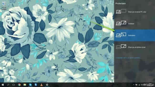 extindere desktop