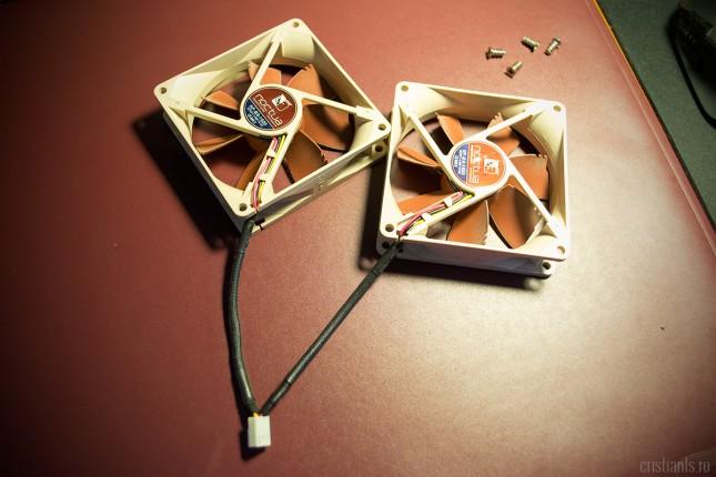 cabluri ventilatoare cooler cpu scurtate