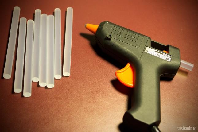 pistol lipire la cald