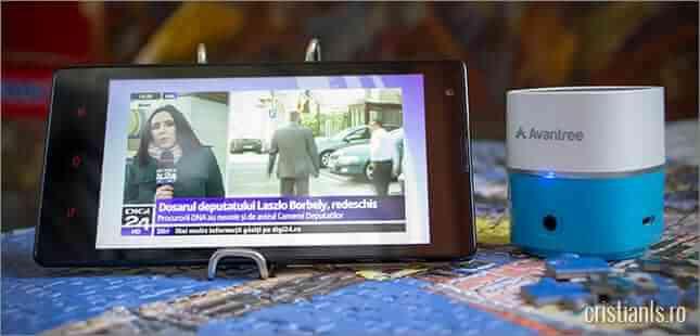 boxa bluetooth pentru smartphone, tableta sau laptop