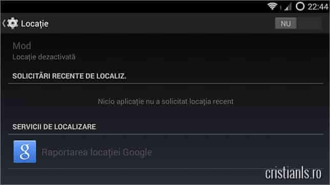 localizare android
