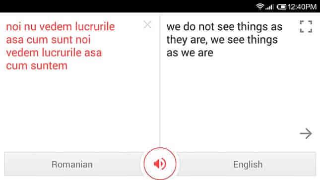 traducere romana engleza corecta
