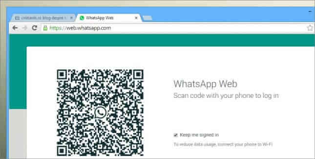 whatsapp web cod